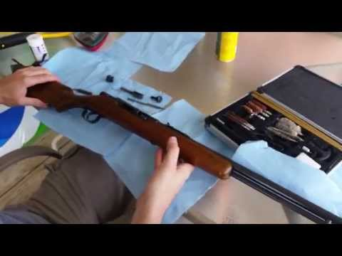 How To/DIY: Western Field 59a .22lr Dissassembly/Cleaning (Sears Roebuck)