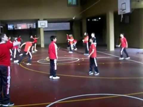 RINGO con torneo interclases. 1º eso 2012-13 - YouTube