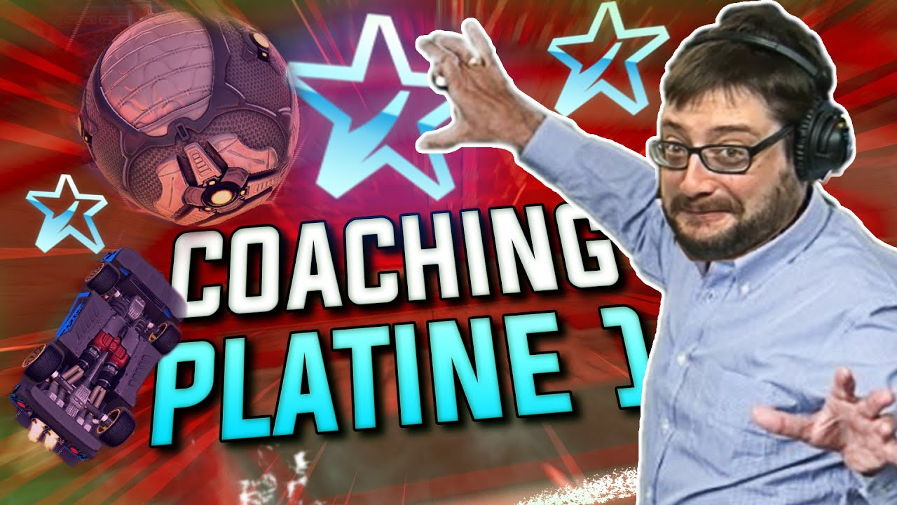 COMMENT SORTIR DU PLATINE !! COACHING LIVE (ROCKET LEAGUE)