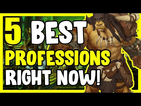 5 Best Professions Right Now In WoW BFA – Gold Making, Gold Farming Guide