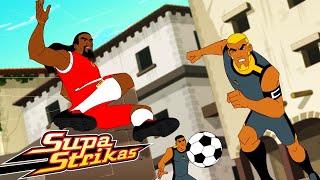S5 E 1  3 COMPILATION! | SupaStrikas Soccer kids cartoons | Super Cool Football Animation | Anime