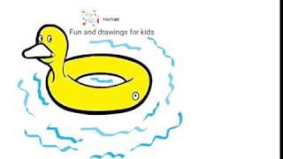 Flotador De Pato Para Niños