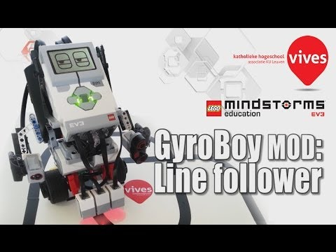 EV3 Segway line folower: a modification of Gyro Boy (Lego Mindstorms