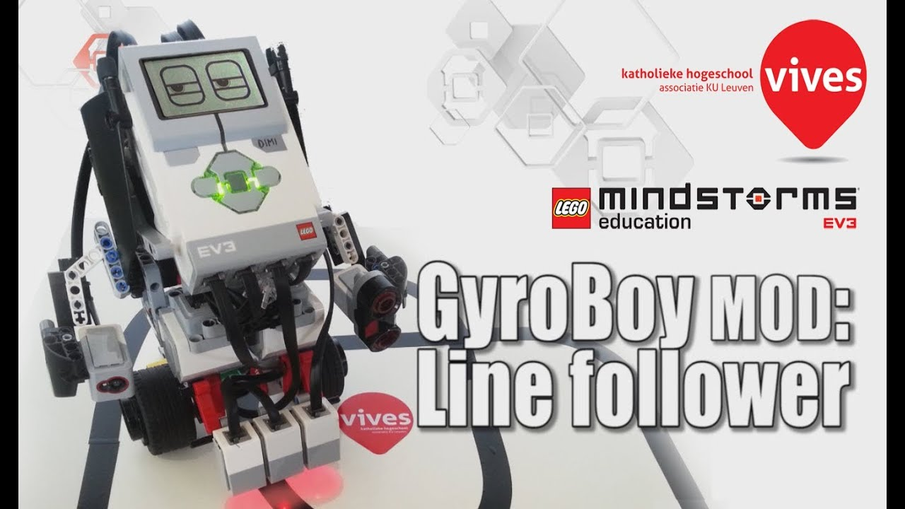 EV3 Segway line folower: a modification of Gyro Boy (Lego Mindstorms  Education)