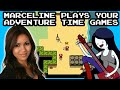 Fan Made Adventure Time Games with Marceline / Olivia Olson!