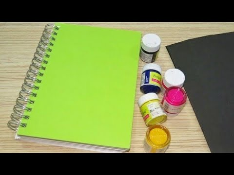 🖤💠DIY Notebook 📒Cover Decoration Ideas | How to Decorate your Diary at home📒💠