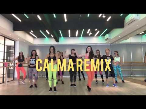 Calma Remix - Farruko / Zumba con Nath