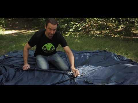 Кемпинговый шатер для природы и дачи Trek Planet модель Siesta (видео)