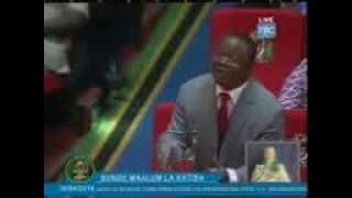 Kamati ya Maridhiano Six:Mhe Tundu Lissu April 16 2014