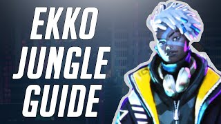 HOW TO CARRY IN SEASON 10 | EKKO JUNGLE - League of Legends