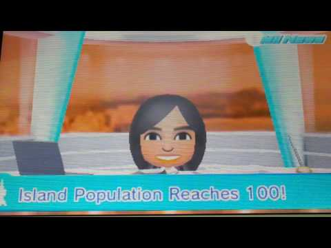 Tomodachi Life - Mii News - Island Population Reaches 100!