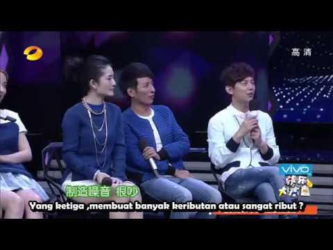 [INDO SUB] Happy camp EXO 2014 (140705)