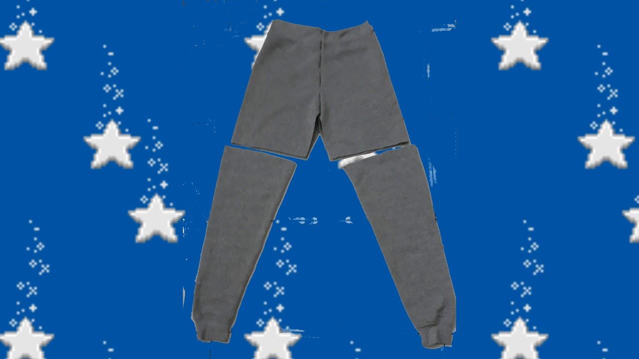 Сшить брюки ребенку из кофты фото 973