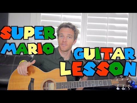 Super Mario Guitar Lesson