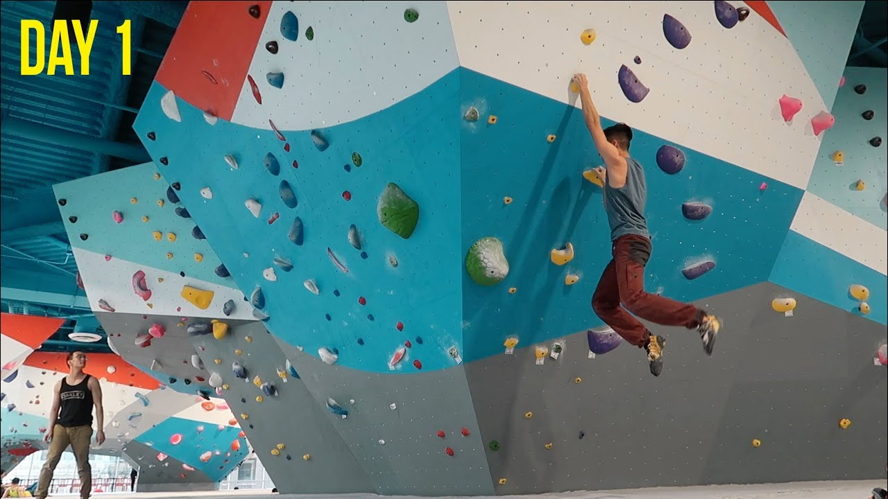NEW GYM! First Ascent Block 37 Chicago Session - YouTube