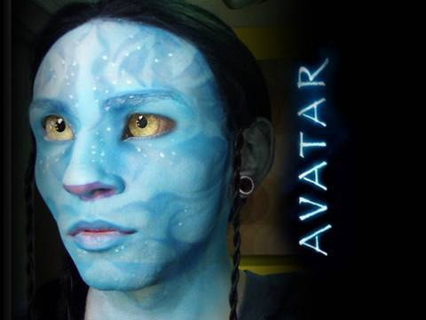 avatar inspired makeup tutorial youtube