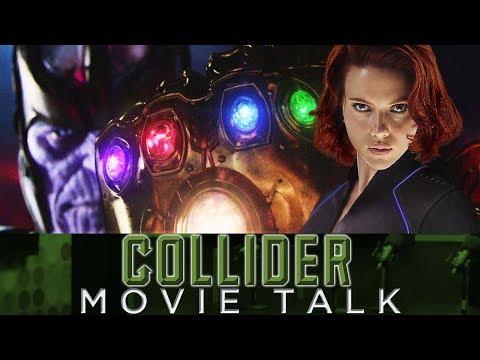 Scarlett Johansson Teases Star Studded Avengers Infinity War Scene - Collider Movie Talk