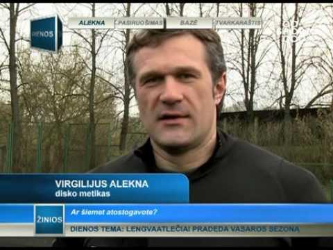 SPORT1: Virgilijus Alekna iki olimpinių žaidynių ilsėtis nežada