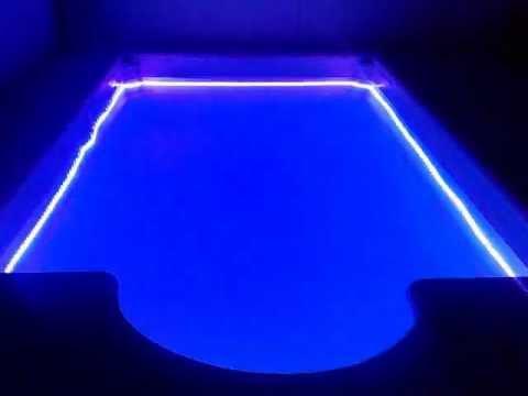 Evetec light pileta led 120w rgb 5 de 5 youtube for Led para piscinas