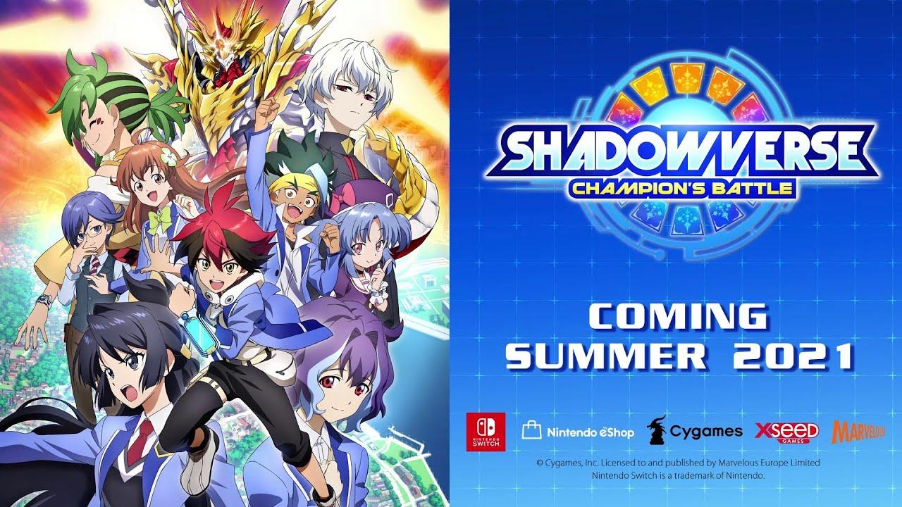 Shadowverse: Champion's Battle - Announcement Trailer [NINTENDO SWITCH]