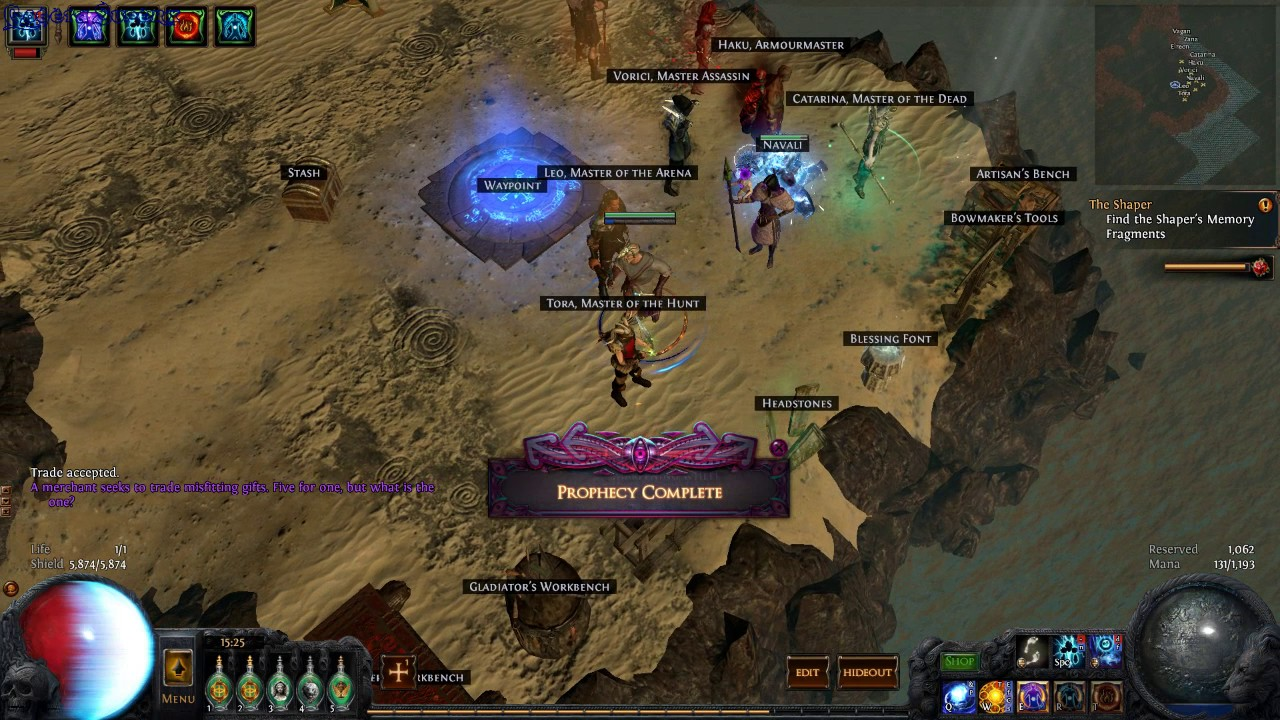 Path Of Exile The Mysterious gift #12 ilvl77 - GogetaSuperx - YouTube