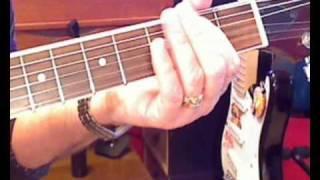Honky Tonk Woman, Rolling Stones, OPEN G TUNING - lesson, rogersgitar