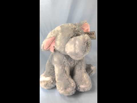 Gund musical elephant