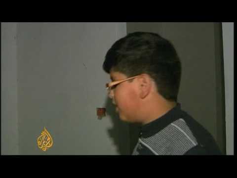 Gaza 'human shield' case in court