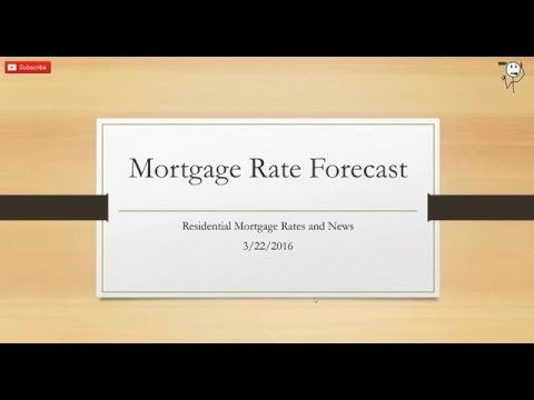 Mortgage Rates Forecast to be Flat