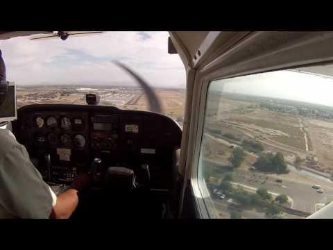 Landing at Chandler AZ (KCHD)