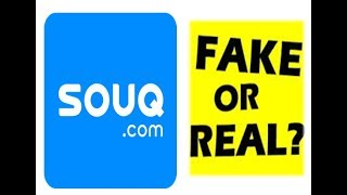 SOUQ.COM COSMETICS REVIEW!! FAKE OR REAL??? thumbnail