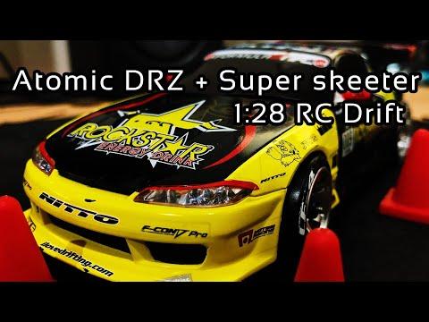 Atomic DRZ + Super Skeeter RWD Drift / 1:28 RC Car