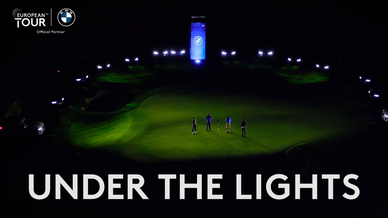 Tommy Fleetwood vs Justin Rose In Night Golf Challenge!