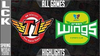 SKT vs JAG Highlights 1400 CS LONGEST PRO GAME EVER  LCK Spring 2018 S8 W1D4