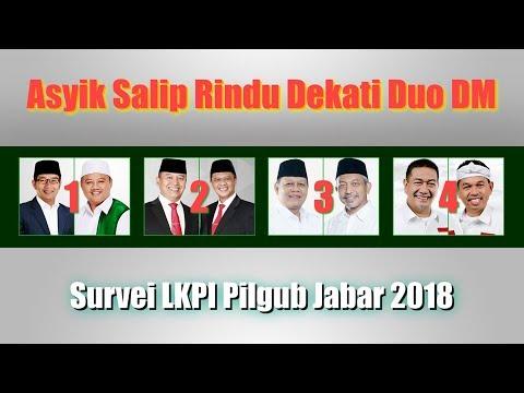 Survei LKPI Pilgub Jabar 2018, Sudrajat Ahmad Syaikhu Asyik Mengungguli Rindu Mendekati Duo DM