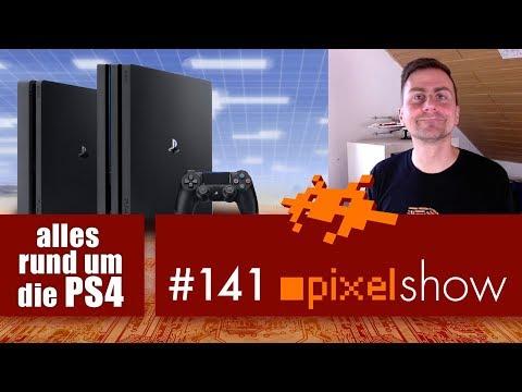 pixelshow #141 - PS4 Fragen & Antworten [PlayStation 4]