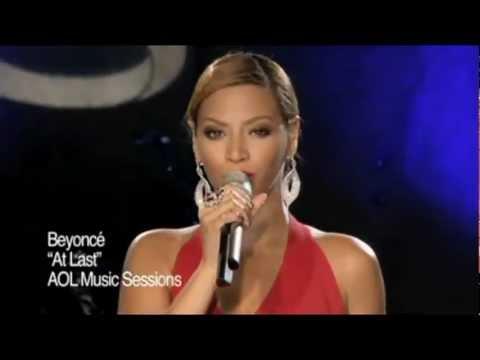 Beyoncé - At Last (Live at AOL Sessions) HD