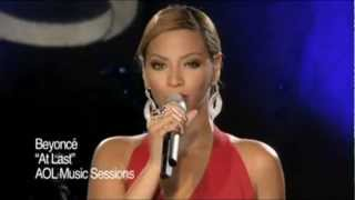 Beyoncé At Last Live at AOL Sessions HD