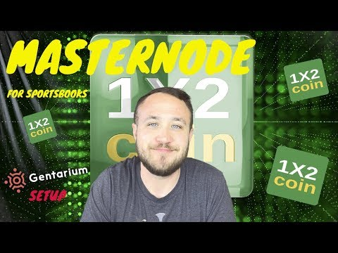 MASTERNODE DECENTRALIZING PAYMENTS FOR SPORTSBOOKS | 1X2COIN CRYPTOCURRENCY
