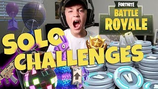 Fortnite Battle Royale Solo Challenges (Rocco Piazza)