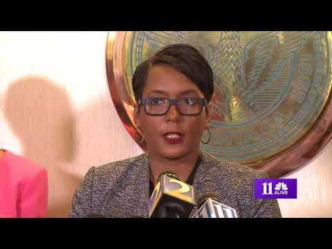City of Atlanta hit with ransomware cyber attack - Mayor Keisha Lance Bottoms explains
