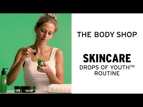 TACKLE THE FIRST SIGNS OF AGEING – DROPS OF YOUTH™ ROUTINE – THE BODY SHOP