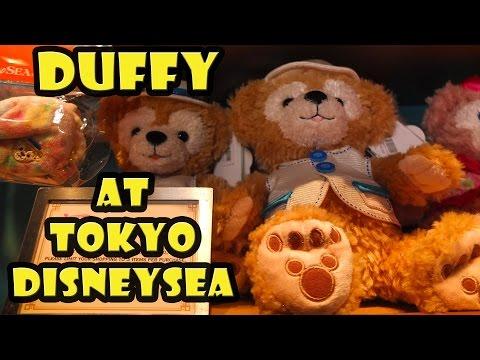 Duffy the Disney Bear at Tokyo DisneySea