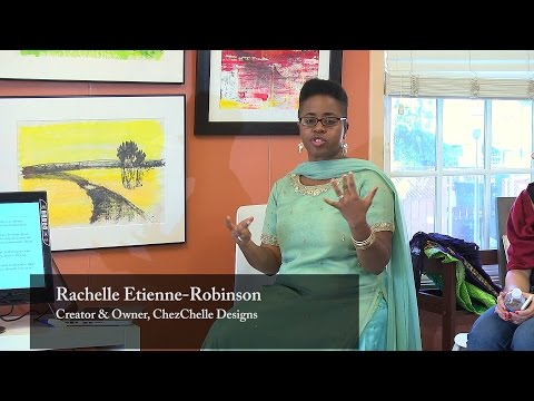 Asian Influence on African Fabric: Rachelle Etienne-Robinson