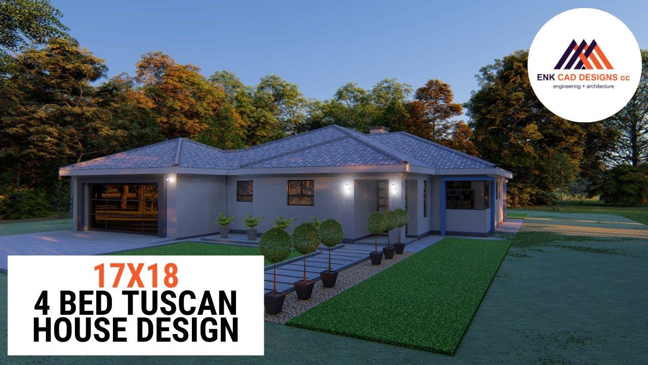 4 Bedroom Tuscan Home Design Tour Modern House Design Youtube