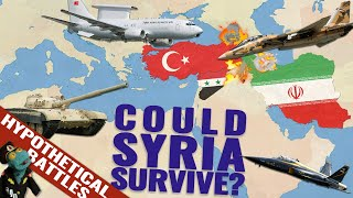 Could Iran save Syria from Turkish military? (If Turkey attacks in 2020)