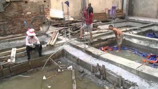 Xây dựng nhà - làm móng