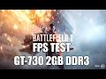 "Battlefield 1 - FPS Test on Minimum Graphics - ""GT-730 2GB DDR3"" (Singleplayer)"