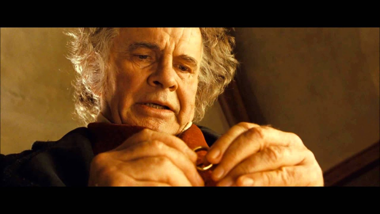 LOTR The Fellowship of the Ring - Farewell Dear Bilbo