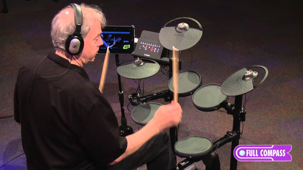 Yamaha Dtx450k Electronic Drum Kit Overview Full Compass Youtube